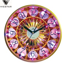 LED light wall clock,decorative led light wall clock