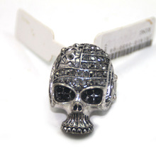 2016 New Design Halloween Elastic Adjustable Masonic Indian Black Skull Ring