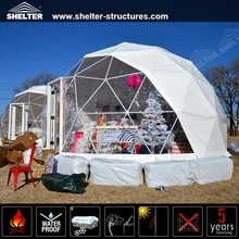 Customized Cheap Aluminum Modular Dome Homes, Prefab Dome For Events