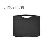 JD factory good price hard plastic flight tool case with lock and foam insert