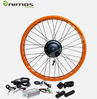 light weight battery powered 48v 1000w electric bike kit with Rear Brushless hub motor