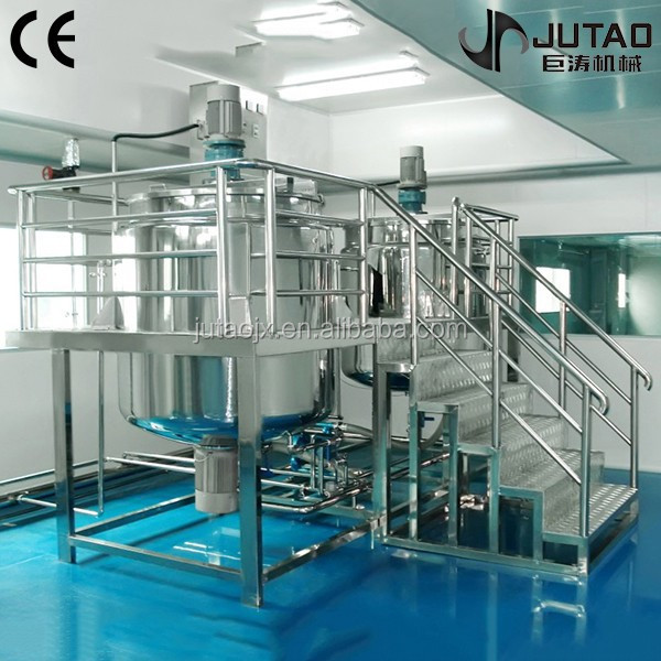 200-5000L Liquid washing mixer,liquid soap mixing tank,detergent production line
