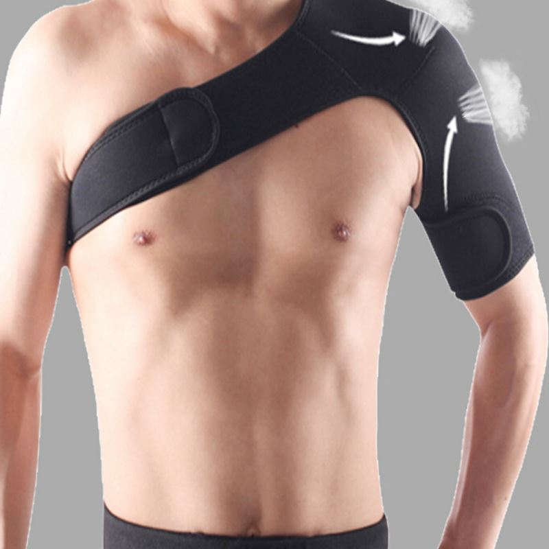 1 PC Adjustable bandage protector reinforced functional training equipment single shoulder strap sport injury prevention Z3