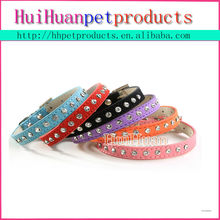 hot sale good quality one row diamond pet dog collar