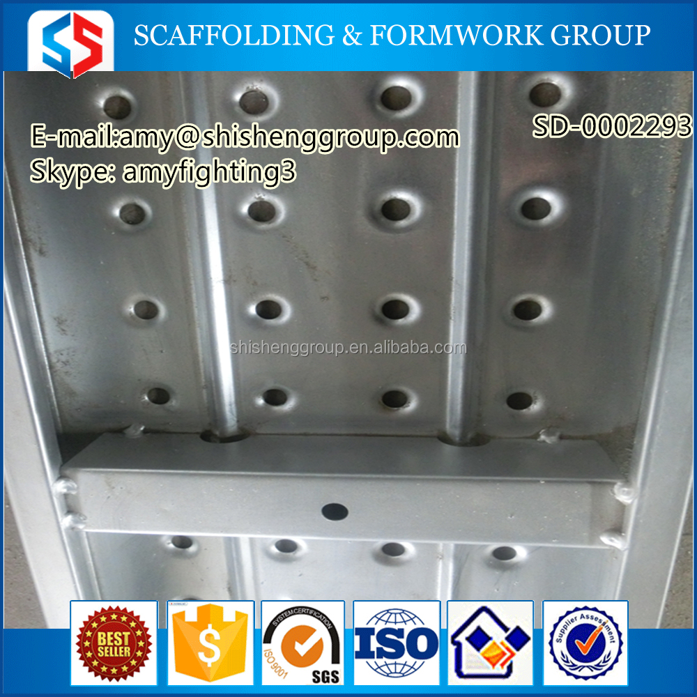 Tianjin SS Group Galvanized scaffolding metal deck sheet for sale
