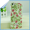 cell phone cases for iphone 5 5s flower design, follower phone case