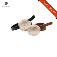 Fashion Lovely & Cool Kids Belts with Flower Decoration