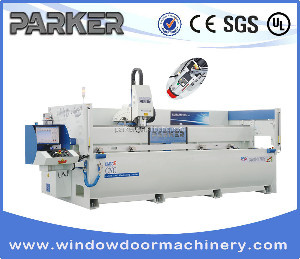CNC Aluminum Copy Router/High-speed Drilling-milling Processing Center for Curtain Walls