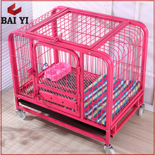 Stainless Steel Dog Crates/Portable Dog Kennels/Pet Cage With Bottom Tray