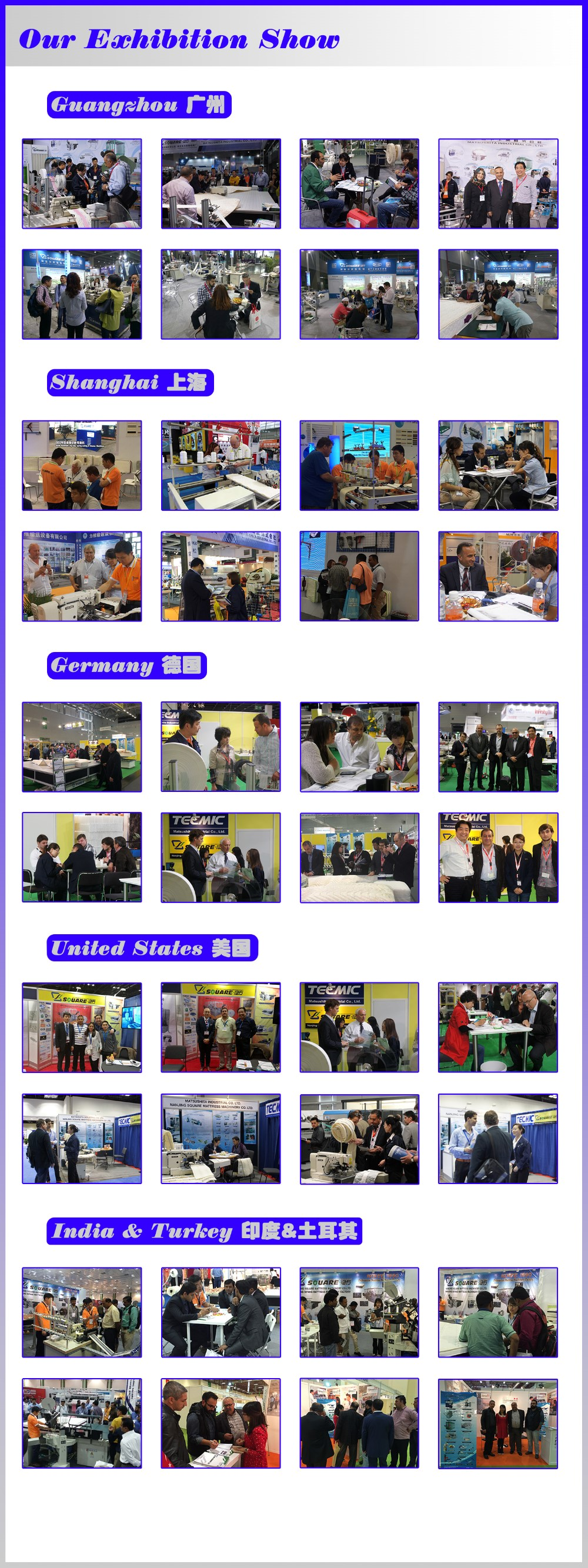 Our exhibition show