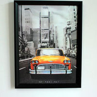 100% high quality pp material 3d wall decor