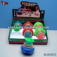 cheap fashionable design light up spinning top