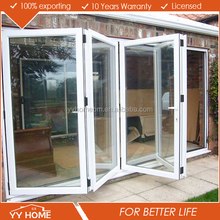 Aluminum alloy vertical Bi-folding Doors