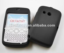 custome silicon double colors case for sony ericsson CK13I TXT, free sample phone case