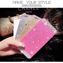 New rigid plastic bling phone case for iphone 4 5 5s 6 6plus