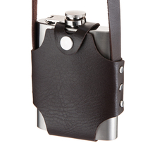 Whiskey Alcohol Pocket Stainless Steel Hip Flask With Screw Lid