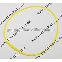 Rubber Cord Silicone Necklace Making(RCOR-440L-4)