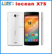 Original iocean X7s MTK6592 Octa Core phone X7 HD MTK6582 1.7GHz 2G RAM 16G ROM 5.0 inch IPS Screen Android 4.2 mobile phone