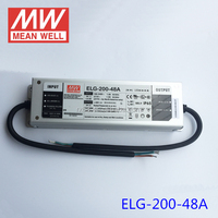Mean well Led Driver 200w 48v IP65 waterproof led power supply ELG-200-48A