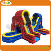 Backyard inflatable slip and slide for kids