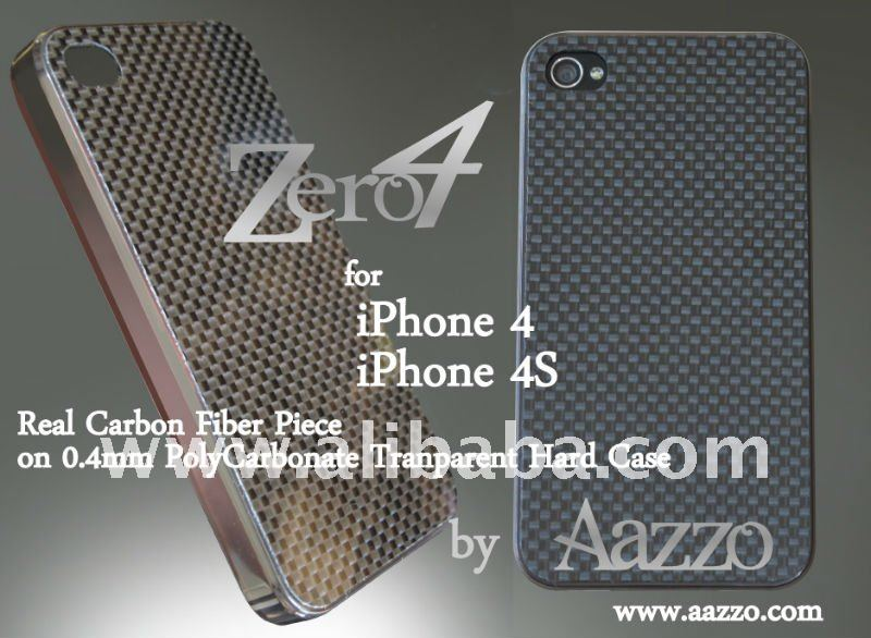 Zero 4 Carbon Fiber Case for iPhone 4/4S