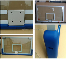 outdoor basketball equiment tempered glass backboard