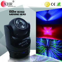 professional 60w led mini beam moving head light/used stage equipment