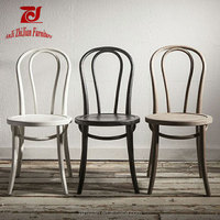 Wholesale Bentwood thonet chair french style solid cafe chair ZJ-C9 Replic thonet chair