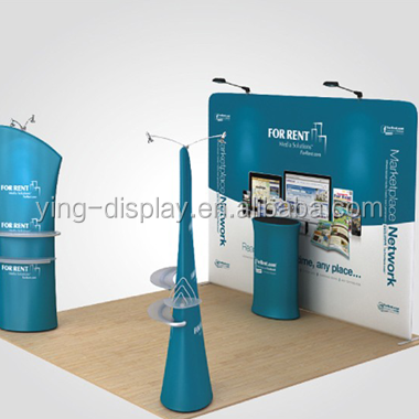 trade show display aluminium pipe and drape manufacturing in china