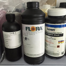 Original FLORA uv flatbed printer printing ink for konica printhead