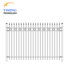 Different kinds of decorative metal fence posts galvanized steel plate