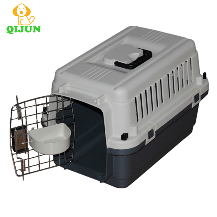 Large airplane dog carrier with wheel