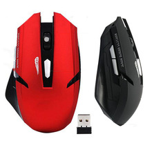 Portable 2.4G USB Optical Mice Wireless Gaming Mouse with Receiver for PC Laptop Computer 6 Buttons 2000DPI Mouse NGD0632