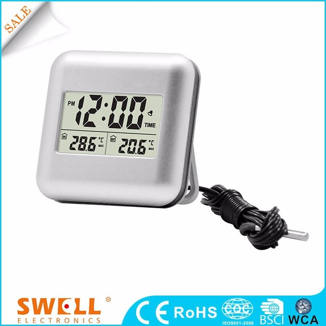 Swell Iso Perpetual Calendar Alarm Ruler Calculator With Digital Clock