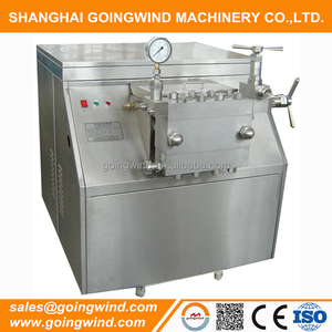 Automatic industrial dairy homogenizer high pressure milk juice homogenizing machine 1000l 3000l 5000l good price for sale