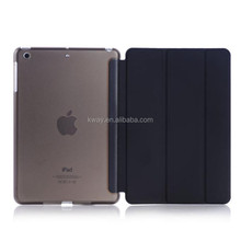 Ultra Slim Magnetic Smart Cover Leather Case with Matte back case for Apple iPad mini 1/2 /3 with Retina Display