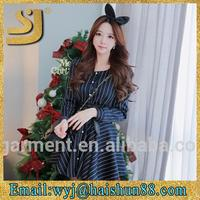 vogue hot sale maxi long sleeve designer traditional design of dress
