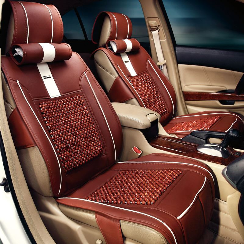 high quality brand fashion wood beads universal car seat cover