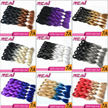 Synthetic Crochet Braiding Hair Ombre Color Wholesale Synthetic Hair Extensions X-Pression Ultra Jumbo Braid