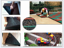 Wholesale prices playground rubber tiles for outdoor