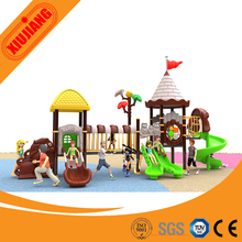2017 Kids metal and plastic outdoor playground big slides for sale