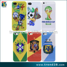 2104 world cup design mobile phone cover for Apple iphone 5 5S