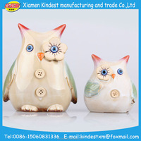 China imported home decoration, ceramic owl statues home