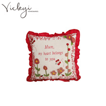 Vickyi Cheap Sofa Pillow Case Cushion Cover
