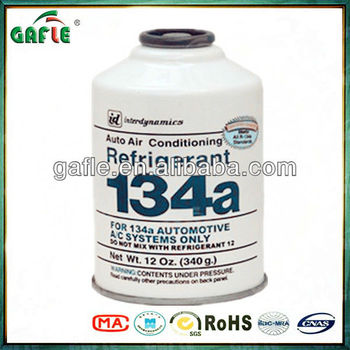 12oz(340g)refrigerant gas r134a for air conditioner