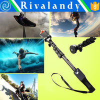 2018 New Hot sale Extendable Selfie Stick for GoPros 4 camera Monopod Tripod YT-1288 With wireless Shutter