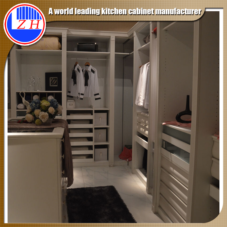 Guangzhou factory 2016 clothes cupboard women big chest modern bedroom wardrobe designs