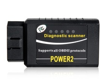 POWER2 ELM327 Bluetooth OBD2 Car Diagnostic Reader Scanner (Black)