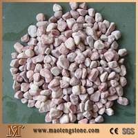 various pink color landscape pea gravel prices for gardens