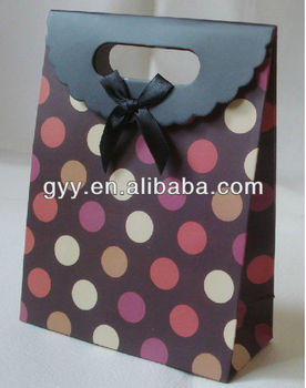 Euro cosmetic paper gift bag 2013 !